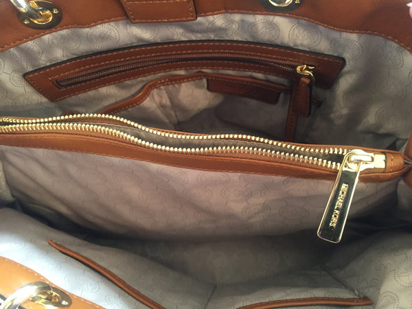 Michael Kors Signature Monogram Logo Bag | Like New | - Secret Stash