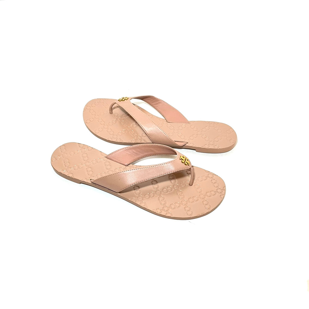 Tory Burch 'Monroe' Dusty Pink Thong Sandals | Like New |
