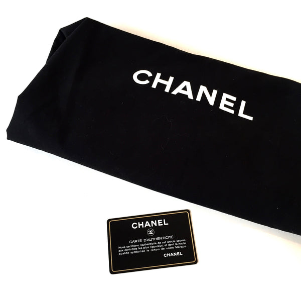 Chanel Black Caviar Leather Grand Shopping Tote Bag | Like New | - Secret Stash
