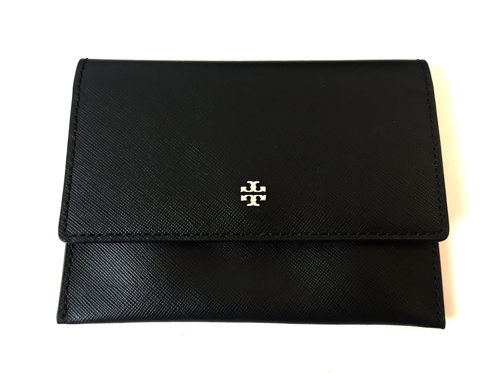 Tory Burch Black Saffiano Leather Cross Body Bag | Gently Used | - Secret Stash