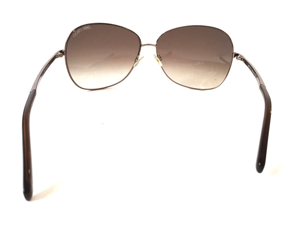 Jimmy Choo CROCUS/S AGF02 Bronze Sunglasses | Gently Used | - Secret Stash