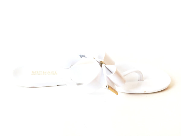 Michael Kors 'Kayden' White Jelly Sandals | Pre Loved | - Secret Stash