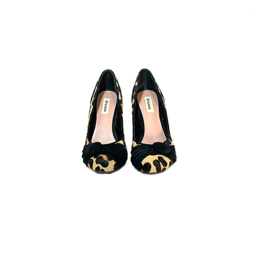 DUNE Cheetah Print Pumps | Pre Loved |