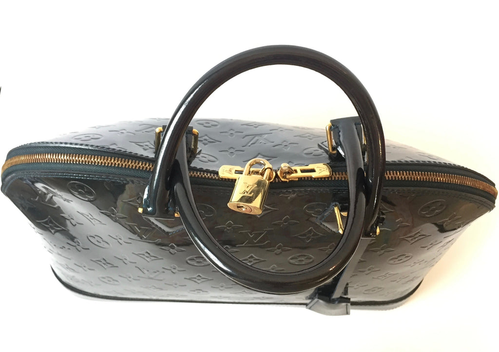 Louis Vuitton 'ALMA Monogram Vernis' Patent Leather Bag | Gently Used |