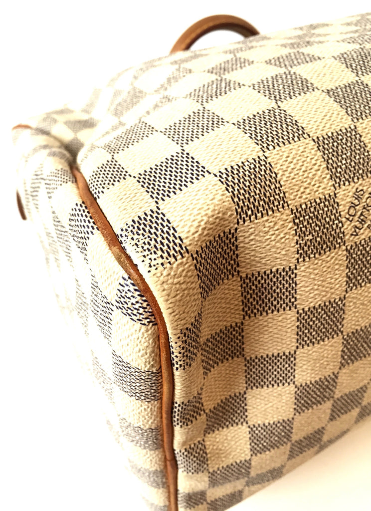 Louis Vuitton 'Speedy 30 Damier Azur' Bag | Gently Used |