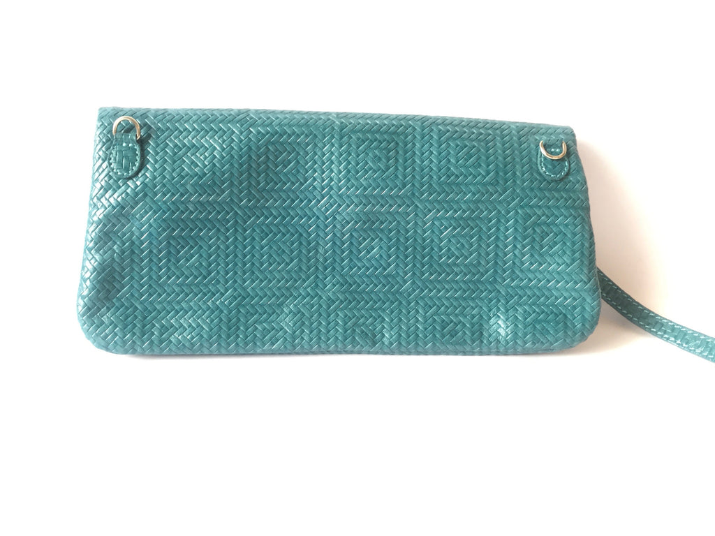 Gianni Chiarini Leather Textured Clutch | Gently Used | - Secret Stash