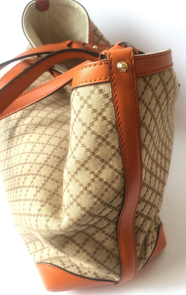 Gucci Craft GG Canvas Diamante Tote Bag with Pochette | Gently Used | - Secret Stash