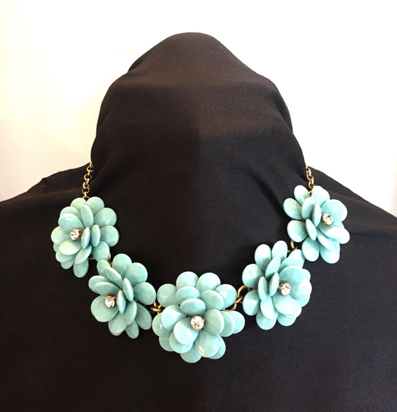 J Crew Flower Burst Necklace | Brand New |