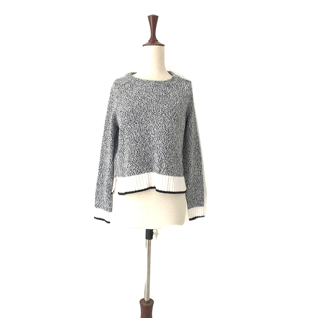 H&M Grey Knit Sweater | Gently Used |
