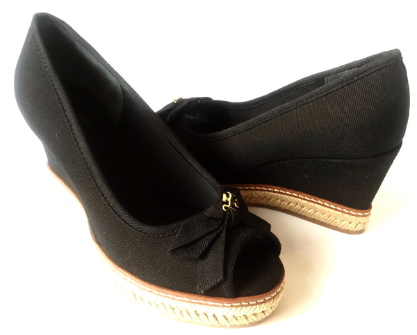 Tory Burch 'Jackie' Espadrille Wedge Pumps | Brand New | - Secret Stash