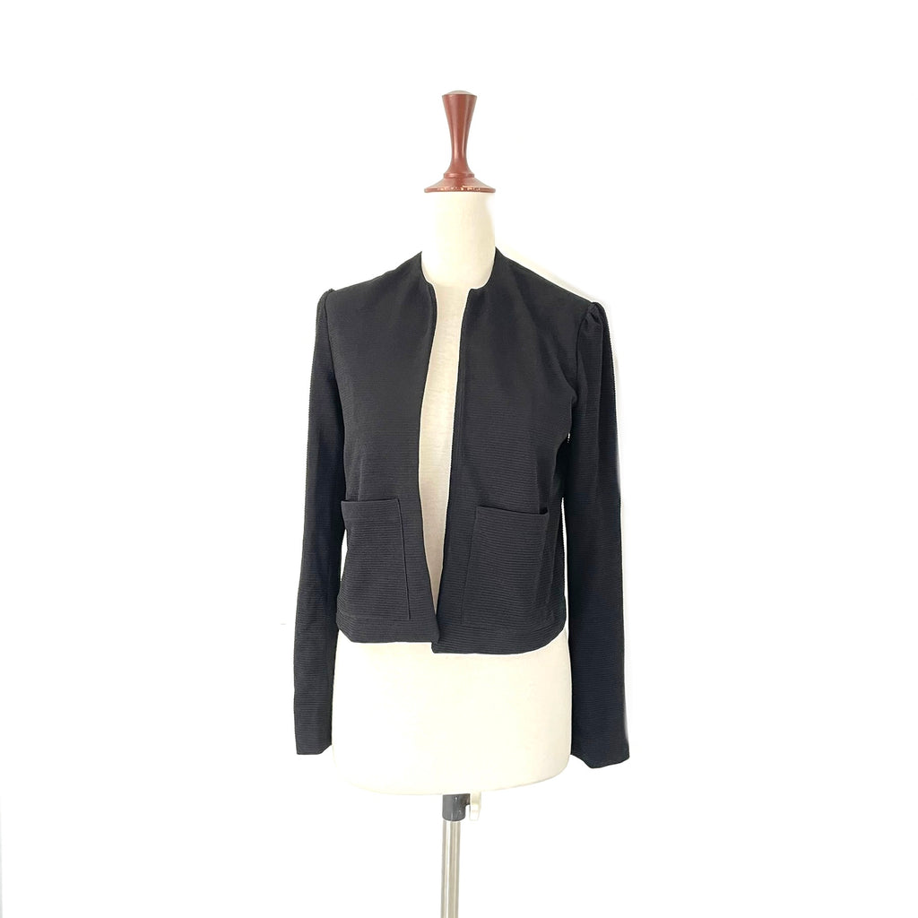 Mango Black Knit Jacket | Gently Used |