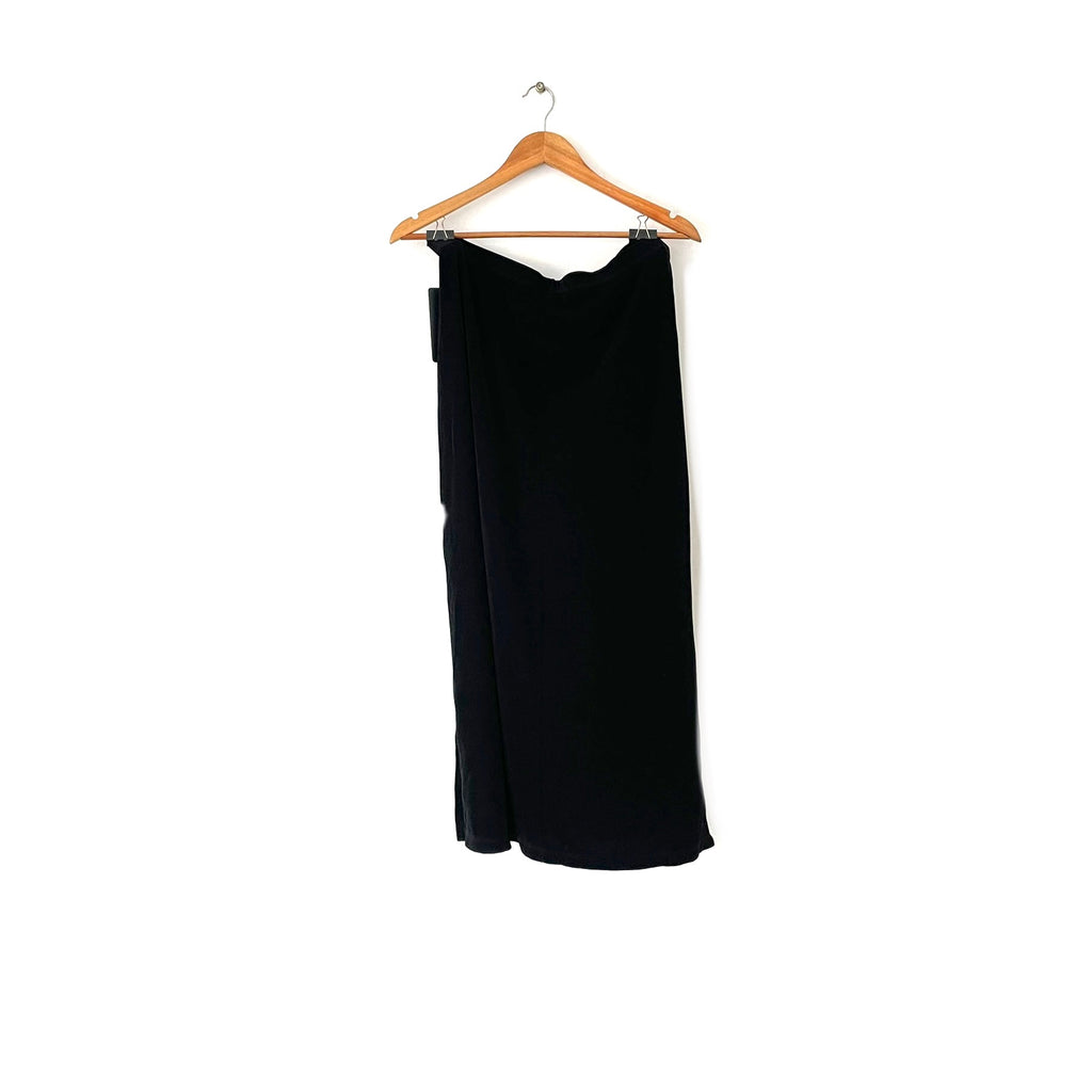 NYPL Collection Black Maxi Skirt | Brand New |
