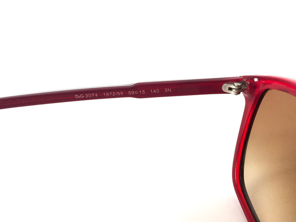 D&G 3074 1872/55 Blue & Red Sunglasses | Pre Loved |