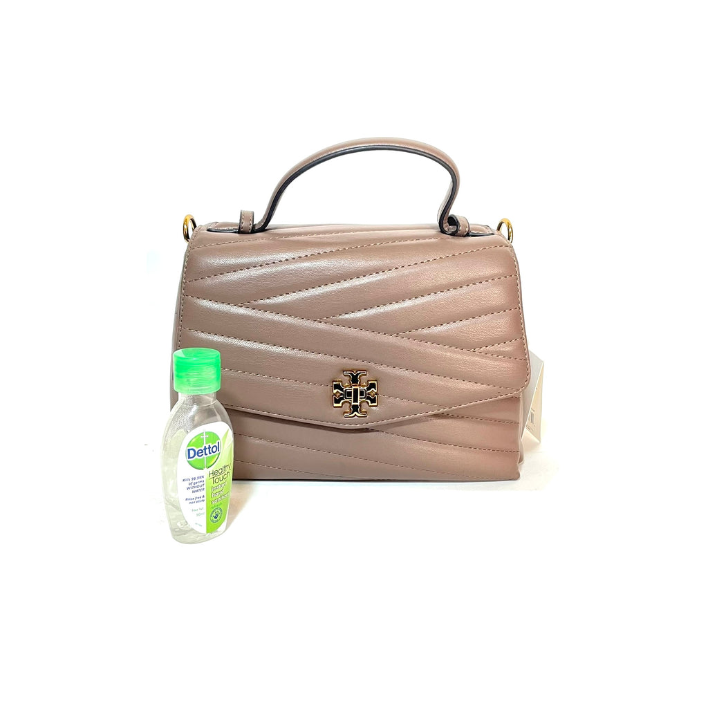 Tory Burch Chevron Top Handle Satchel | Brand New |