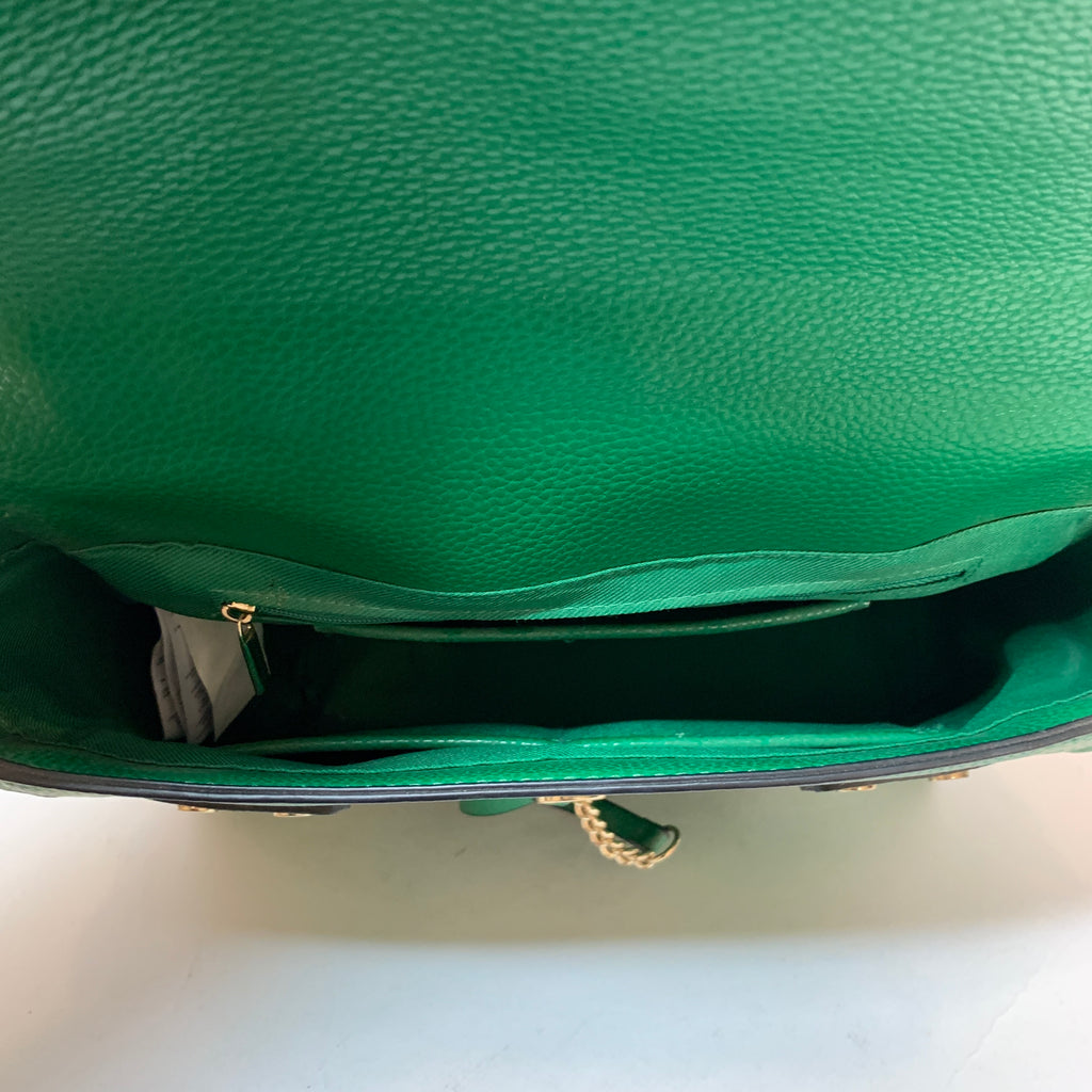 ALDO Green Scarf Satchel | Gently Used |