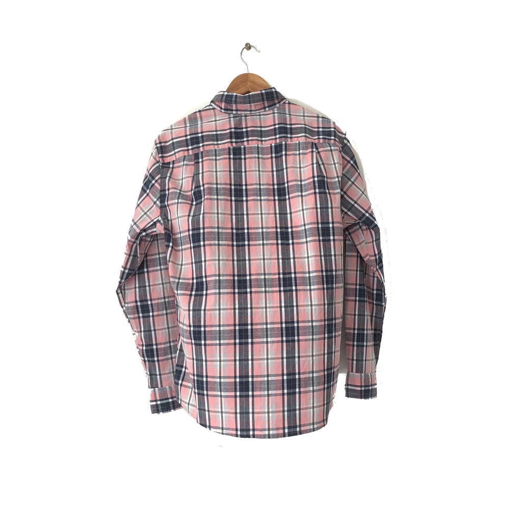 Sonoma Men's Pink Checked Shirt | Brand New |