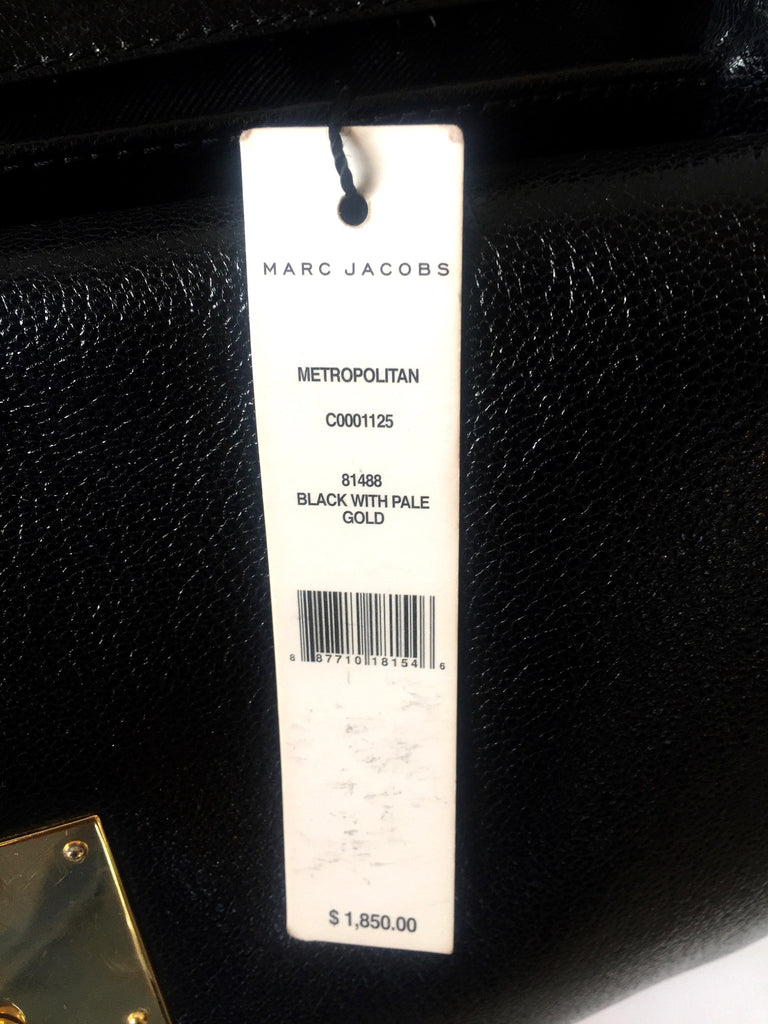 Marc Jacobs 'Metropolitan' Leather Tote | Pre Loved | - Secret Stash