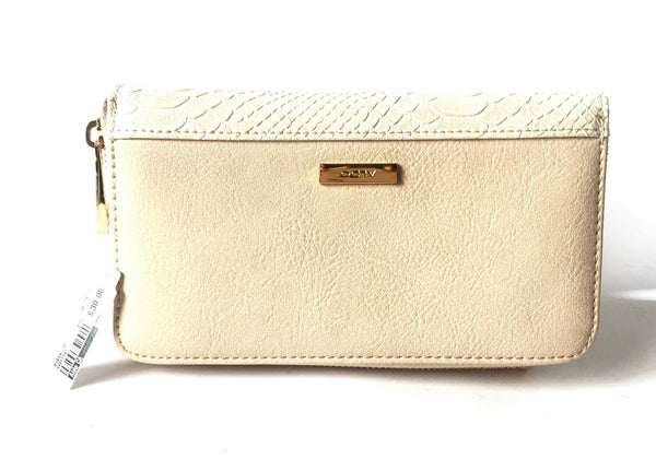 ALDO 'Nyssa' Beige Wallet | Brand New | - Secret Stash