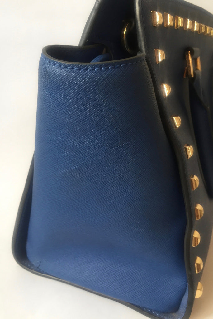 Michael Kors Medium Studded Selma Bag | Pre Loved | - Secret Stash