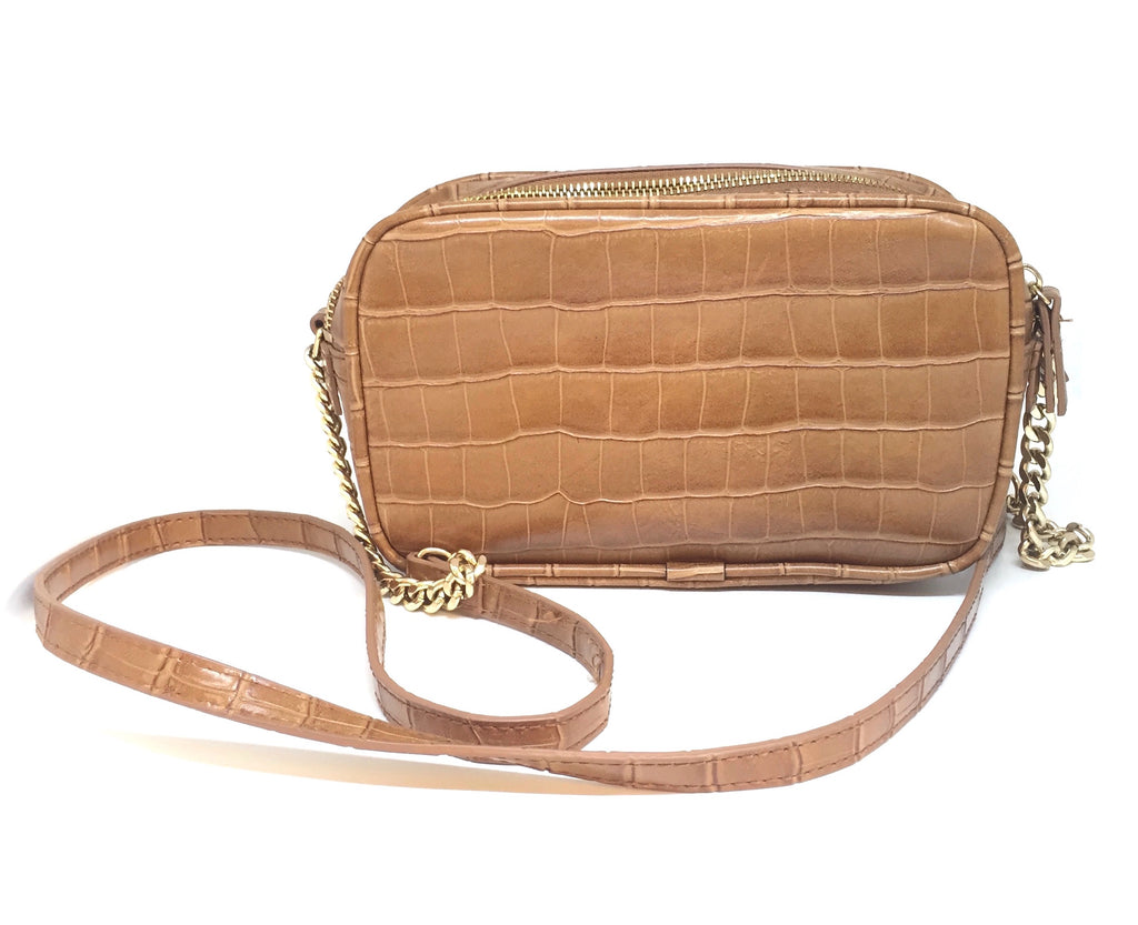 Mango Textured Tan Cross Body Bag | Gently Used |