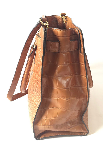 Michael Kors Tan Pebbled Leather Large Tote | Gently Used |