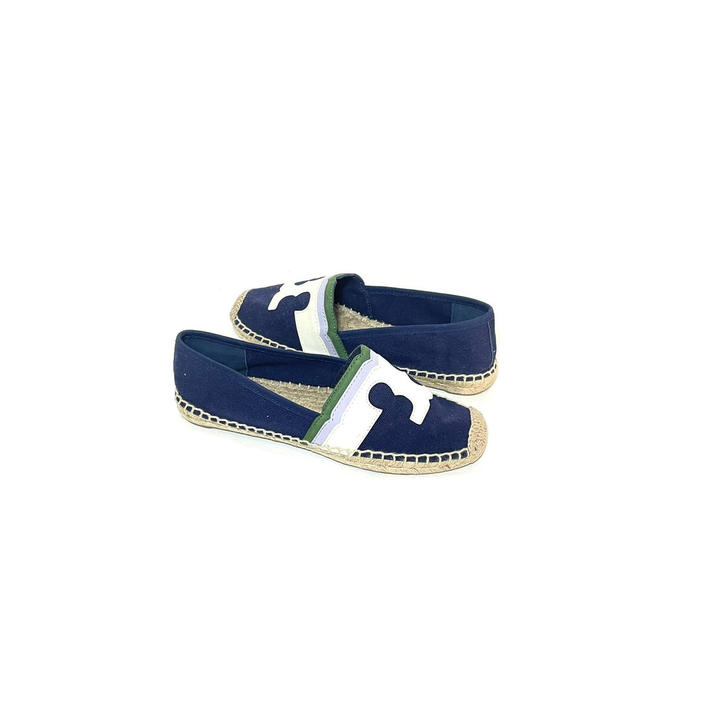 Tory Burch Navy 'Laguna' Espadrilles | Like New |
