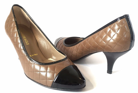 Bruno Magli Quilted Leather Pumps | Gently Used |