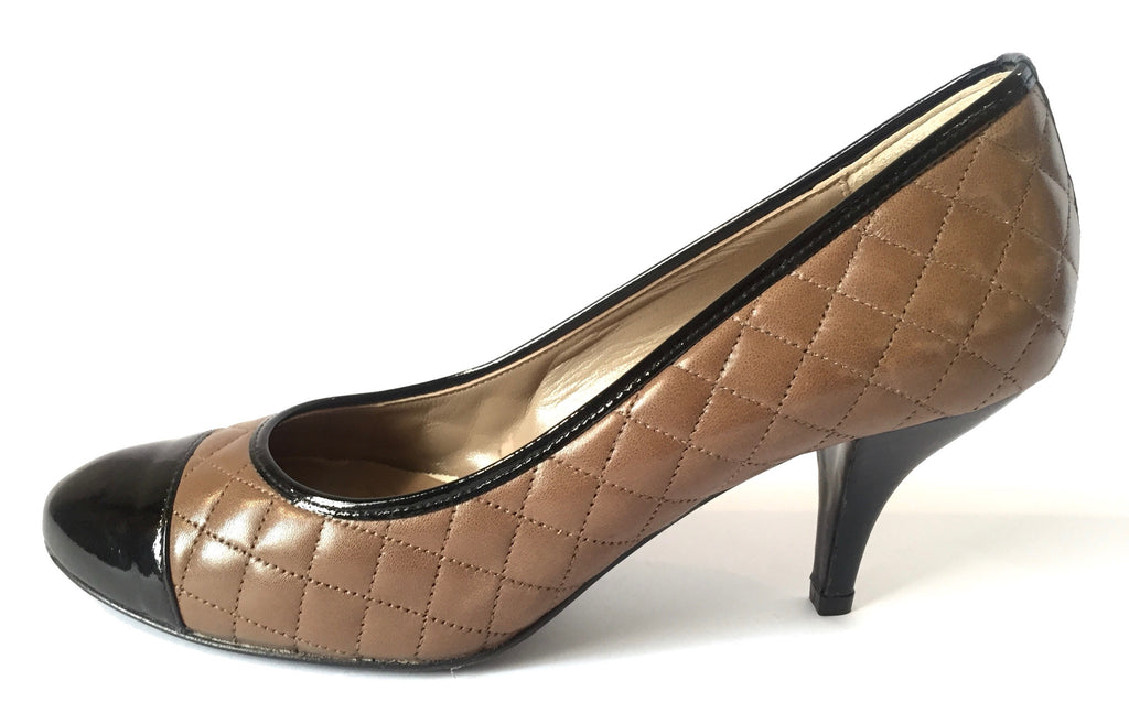 Bruno Magli Quilted Leather Pumps | Gently Used | - Secret Stash