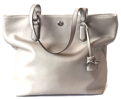 Nine West Grey Tote Bag | Gently Used |
