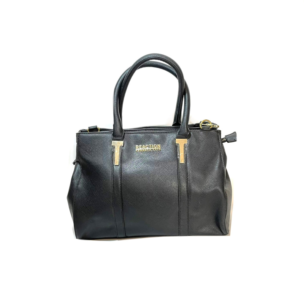 Reaction by Kenneth Cole Black Satchel | Brand New |