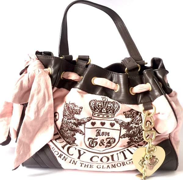 Juicy Couture Pink Velour Handbag | Gently Used | - Secret Stash