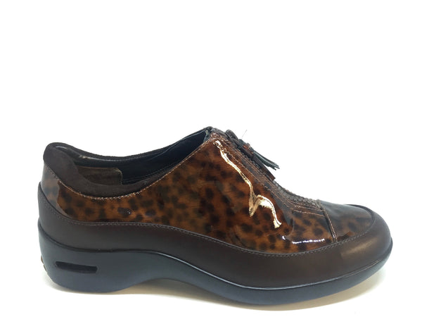 Cole Haan Animal Print Leather Nike Air Rain Shoes | Brand New |