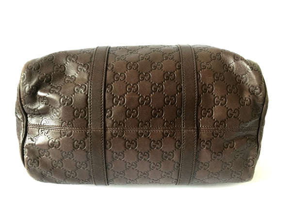 Gucci GG Leather 'Boston' Handbag | Gently Used | - Secret Stash
