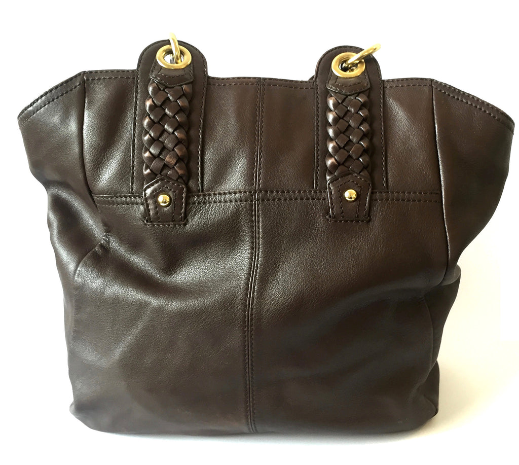 Banana Republic Dark Brown Leather Hobo Bag | Pre Loved | - Secret Stash