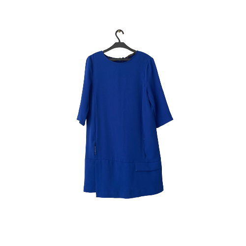 ZARA Blue Dress with Pockets