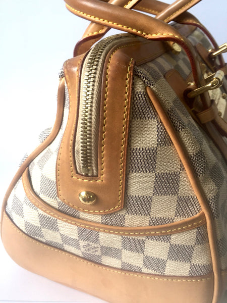 Louis Vuitton Damier Azur Canvas Berkeley Bag | Pre Loved | - Secret Stash