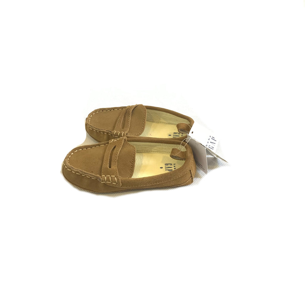 Baby Gap Tan Suede Loafers | Brand New |