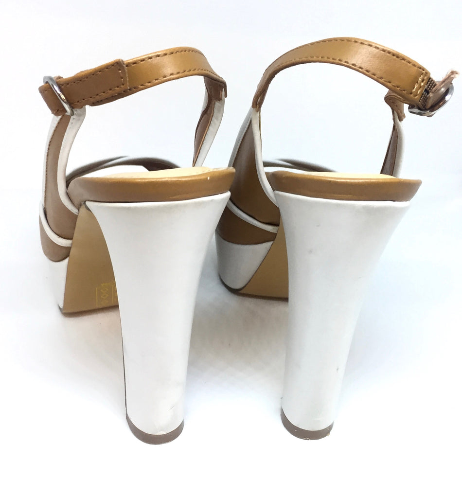 Charles & Keith Platform Slingback heels | Gently Used | - Secret Stash