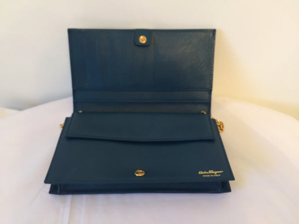 Salvatore Ferragamo Miss Vara Clutch | Brand New | - Secret Stash