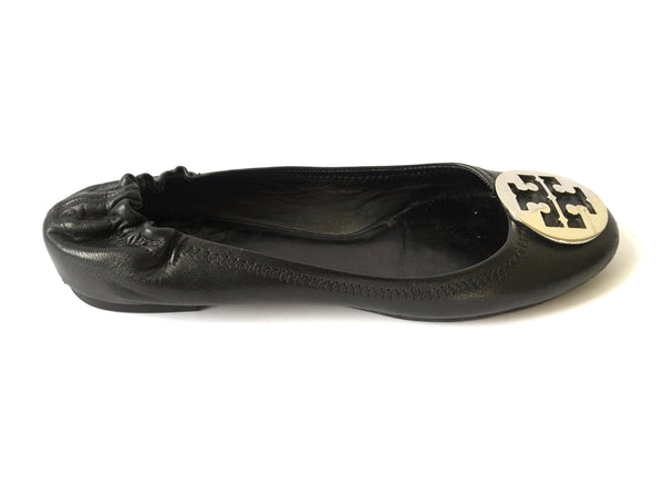Tory Burch 'Reva' Ballet Flats | Pre Loved | - Secret Stash