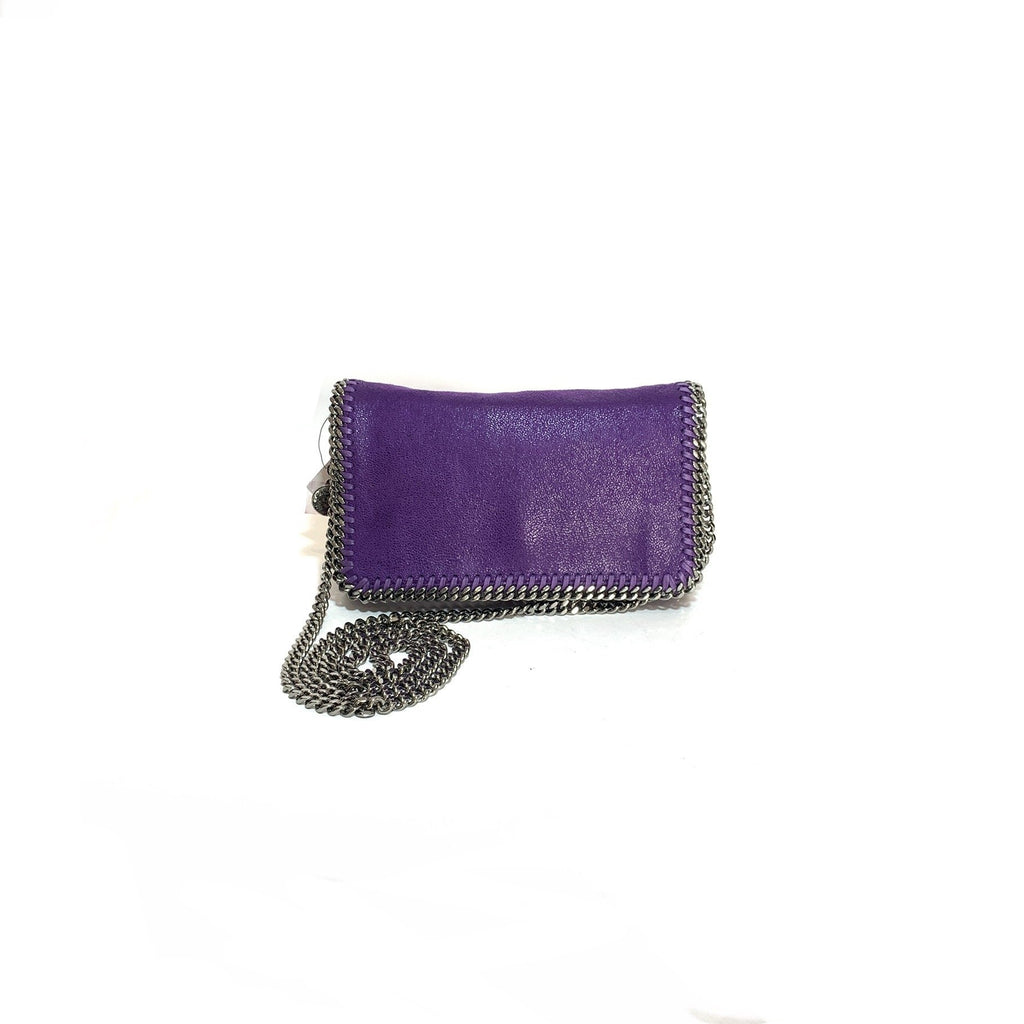 Stella McCartney Purple Falabella Cross Body Bag | Brand New |