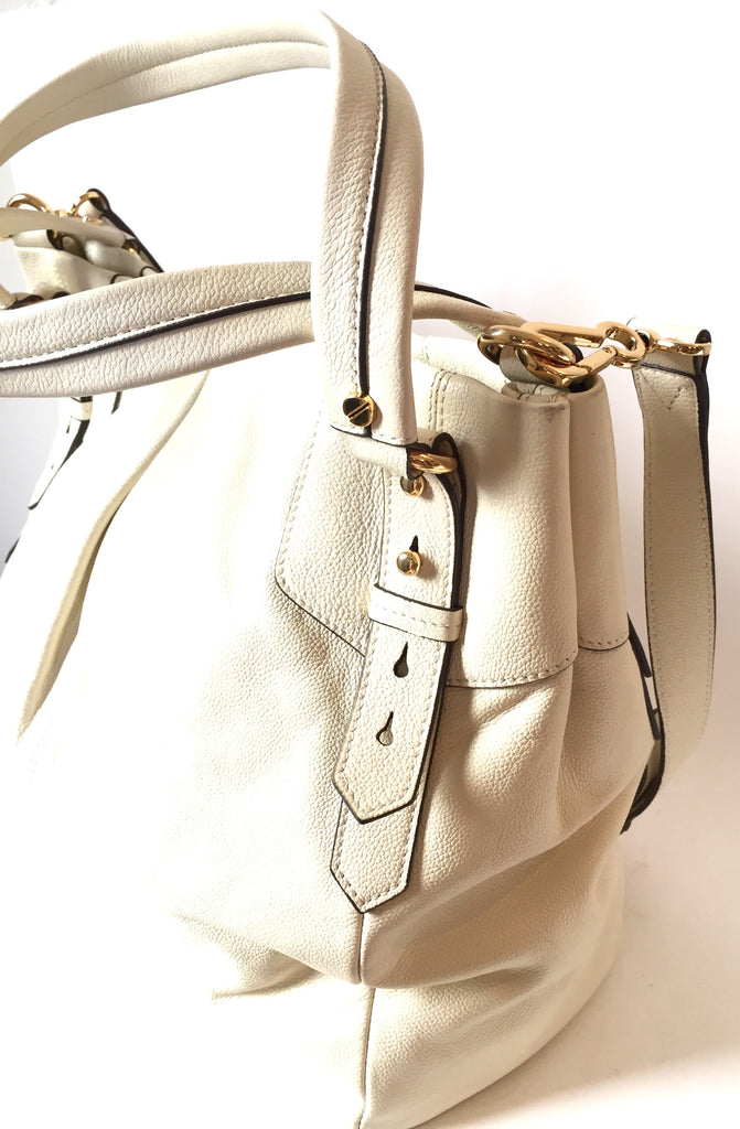 Vince Camuto White Leather Shoulder Bag | Brand New |