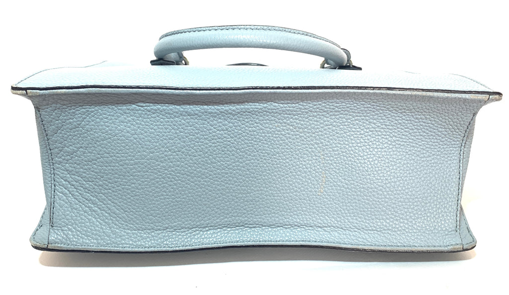 Kate Spade Light Blue Pebbled Leather Satchel | Gently Used |