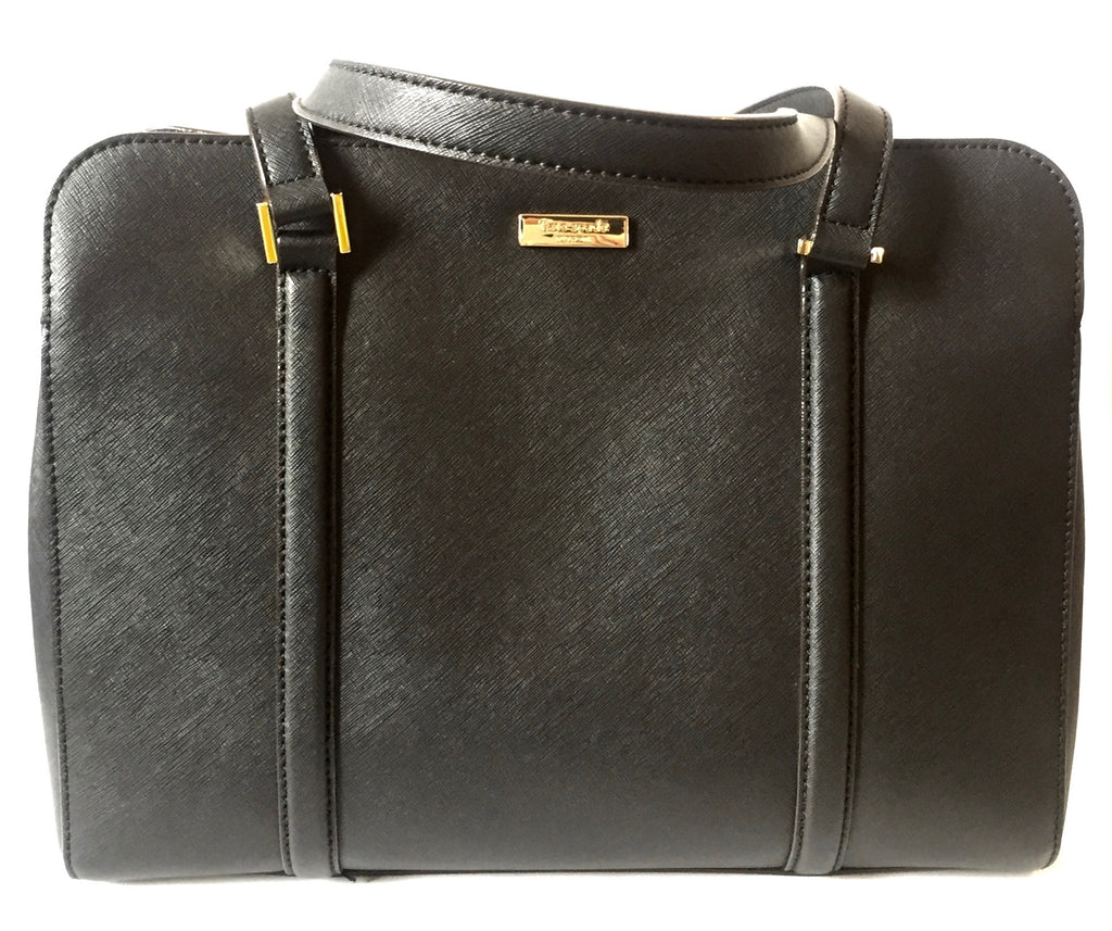Kate Spade Black Leather Shoulder Bag | Like New |