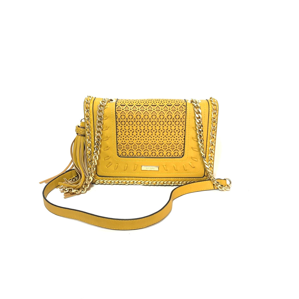 ALDO Mustard Shoulder Bag | Gently Used |