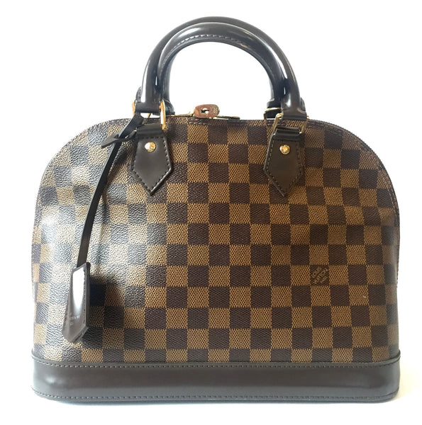 Louis Vuitton Damier Ebene Alma PM Bag | Gently Used |