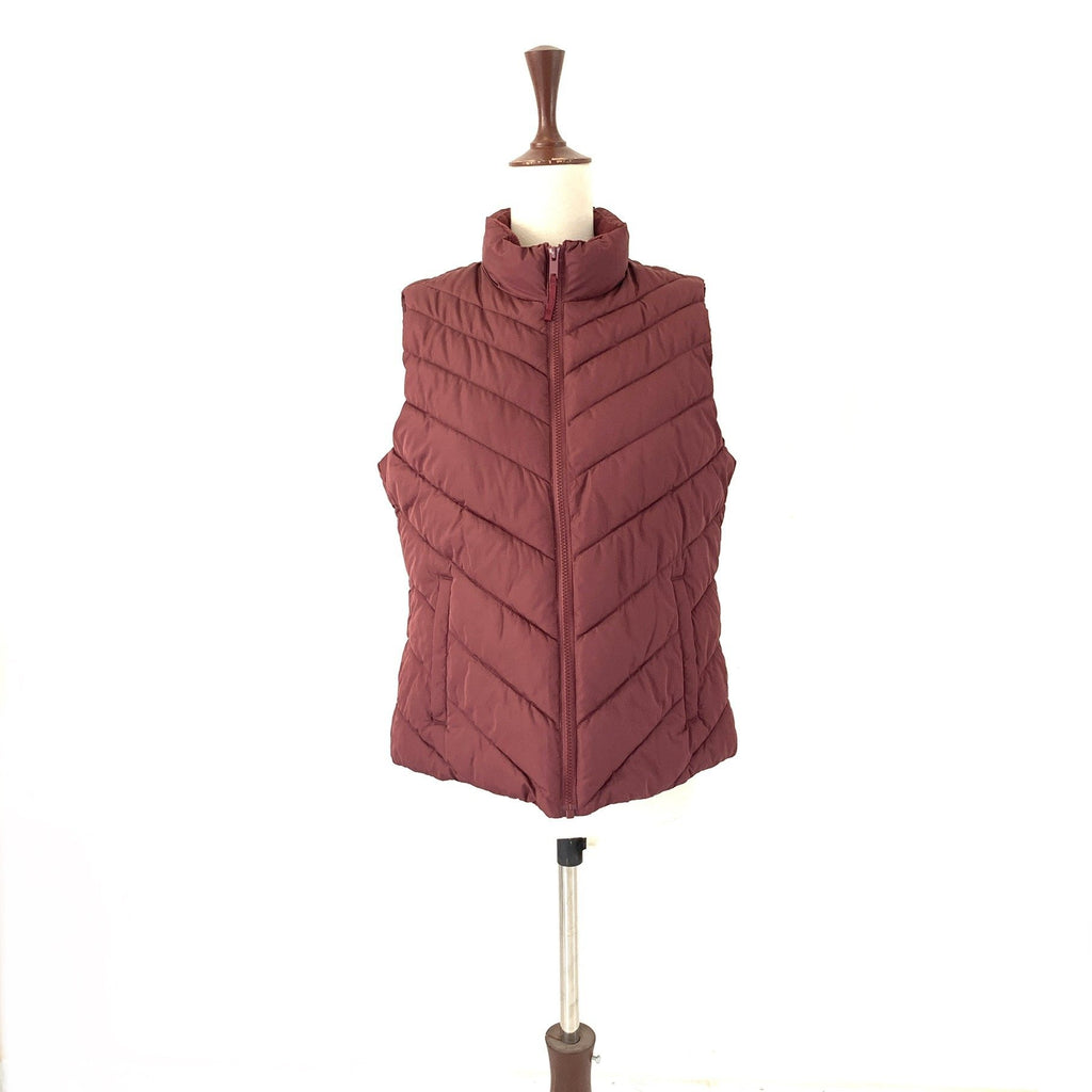 GAP Purple Sleeveless Puffer Vest | Brand New |