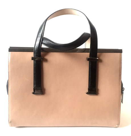 Ted Baker Light Brown Leather Tote Bag | Gently Used |
