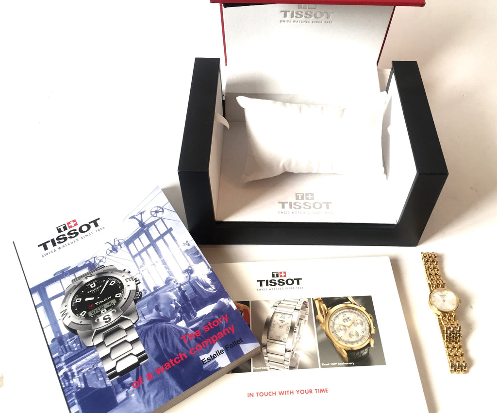 Tissot 1853 Gold Plated Bracelet Watch | Like New |