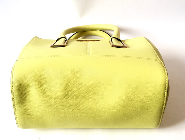 River Island Lime Green Tote Bag | Like New |